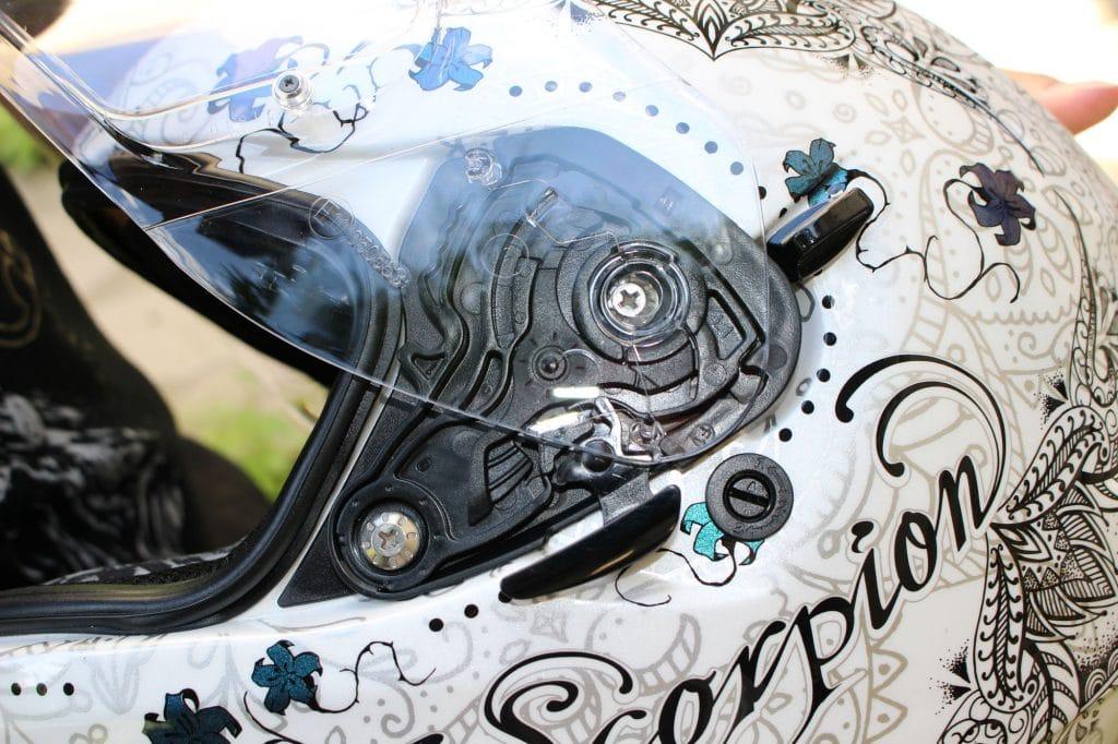 Dessin de casque de moto